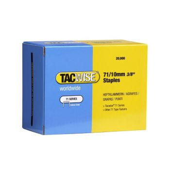 Tacwise Type 71 - 10mm Staples (20