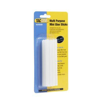 Tacwise Clear Cool Melt Mini Glue Sticks 7.4 x 100mm (12 Pack) - 0476