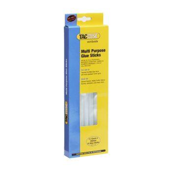 Tacwise Clear Hot Melt Glue Sticks 11.75 x 300mm (16 Pack) - 0470