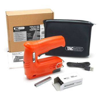 Tacwise Hobby 53-13EL Cordless Staple/Nail Gun Kit  - 1564