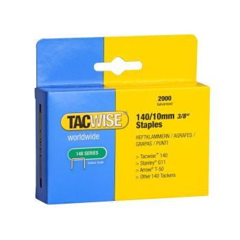 Tacwise Type 140 - 10mm Staples (2