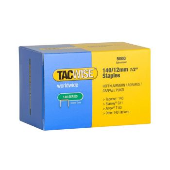 Tacwise Type 140 - 12mm Staples (5