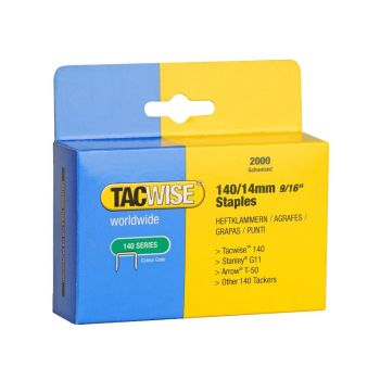 Tacwise Type 140 - 14mm Staples (2