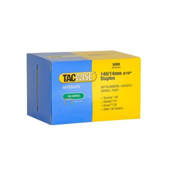 Tacwise Type 140 - 14mm Staples (5