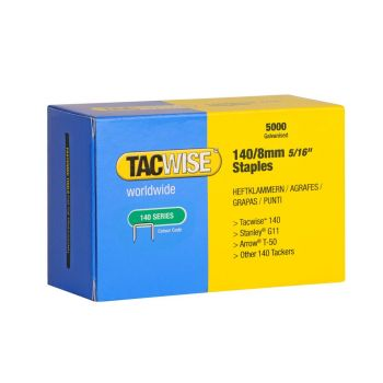 Tacwise Type 140 - 8mm Staples (5