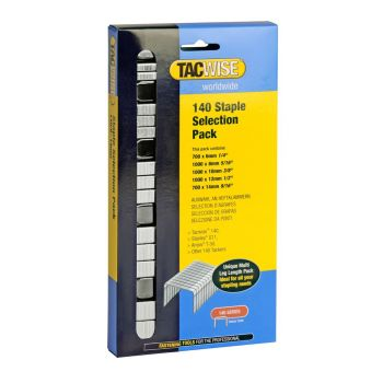 Tacwise Type 140 - Staple Selection Pack (4