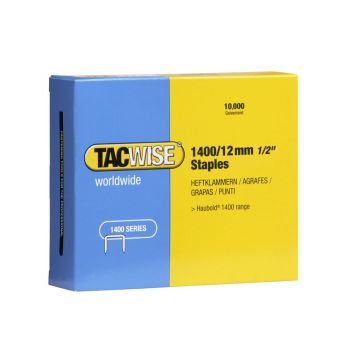 Tacwise Type 1400 - 12mm Staples (10