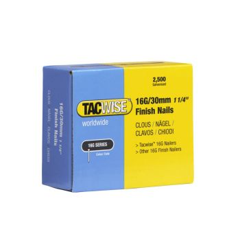 Tacwise Type 16G - 30mm Finish Nails (2