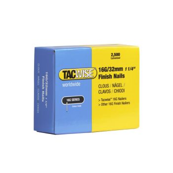 Tacwise Type 16G - 32mm Finish Nails (2