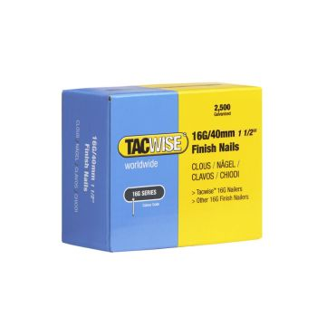 Tacwise Type 16G - 40mm Finish Nails (2