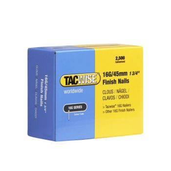 Tacwise Type 16G - 45mm Finish Nails (2