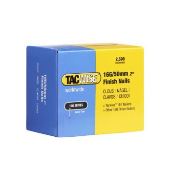 Tacwise Type 16G - 50mm Finish Nails (2