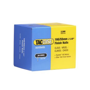 Tacwise Type 16G - 55mm Finish Nails (2