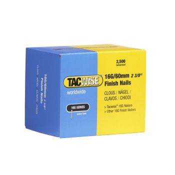 Tacwise Type 16G - 60mm Finish Nails (2
