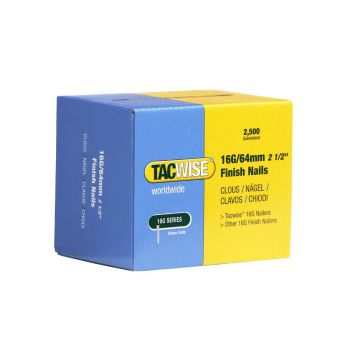 Tacwise Type 16G - 64mm Finish Nails (2