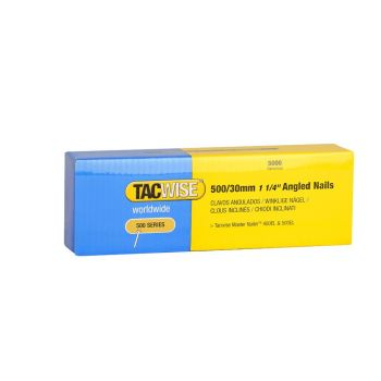 Tacwise Type 500 - 30mm 18G Angled Nails (5