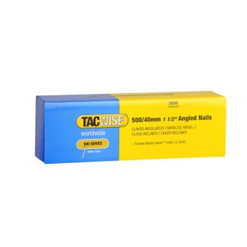 Tacwise Type 500 - 40mm 18G Angled Nails (5