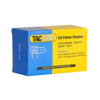 Tacwise Type 53 - 10mm Staples (5