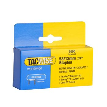 Tacwise Type 53 - 12mm Staples (2