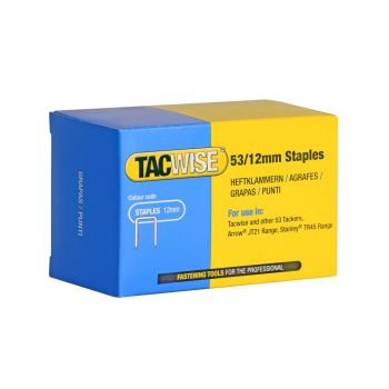 Tacwise Type 53 - 12mm Staples (5