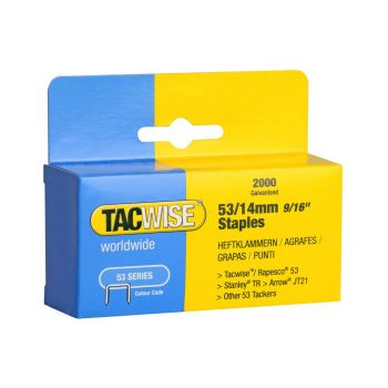 Tacwise Type 53 - 14mm Staples (2