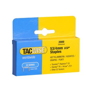 Tacwise Type 53 - 4mm Staples (2