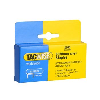 Tacwise Type 53 - 8mm Staples (2
