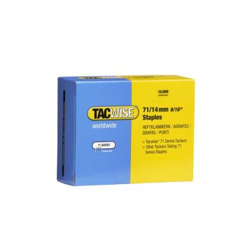 Tacwise Type 71 - 14mm Staples (10