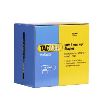 Tacwise Type 80 - 12mm Staples (10
