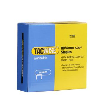Tacwise Type 80 - 4mm Staples (10