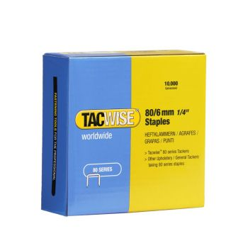 Tacwise Type 80 - 6mm Staples (10