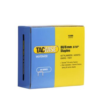 Tacwise Type 80 - 8mm Staples (10