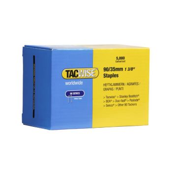 Tacwise Type 90 - 35mm Narrow Crown Staples (5