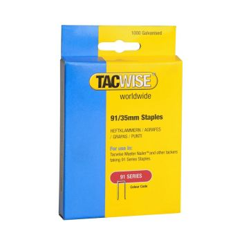Tacwise Type 91 - 35mm Staples (1