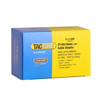 Tacwise Type CT-60 - 10mm Cable Staples (5