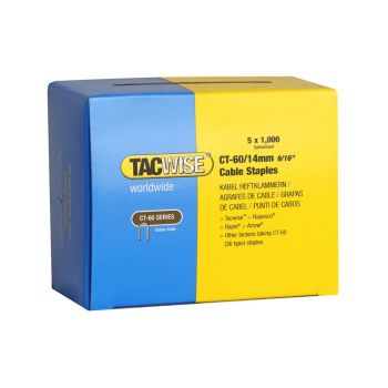 Tacwise Type CT-60 - 14mm Cable Staples (5