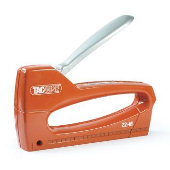 Tacwise Z2-M Metal Hand Staple Gun with Margin Edge Adjuster - 1218