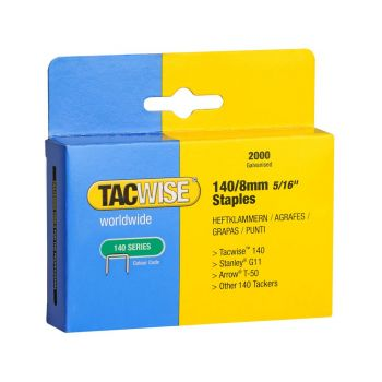 Tacwise Type 140 - 8mm Staples (2