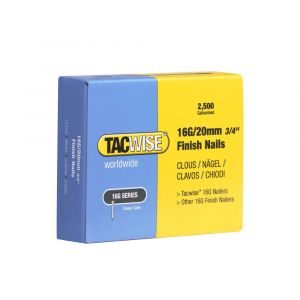 Tacwise Type 16G - 20mm Finish Nails (2
