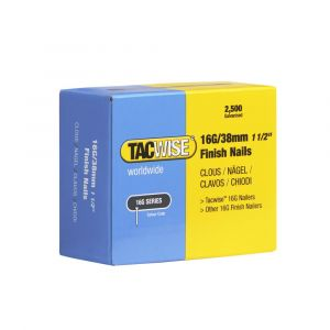 Tacwise Type 16G - 38mm Finish Nails (2
