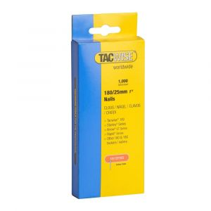 Tacwise Type 180 (18G) - 25mm Nails (1