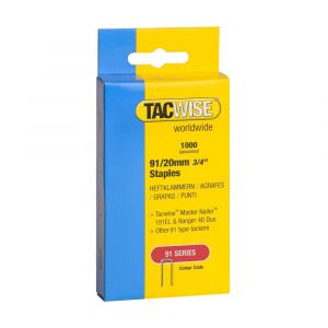 Tacwise Type 91 - 20mm Staples (1