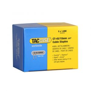 Tacwise Type CT-45 - 10mm Cable Staples (5