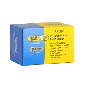 Tacwise Type CT-45 - 8mm Cable Staples (5