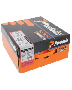Paslode IM360Ci Nails 75mm - 3.1mm RG Galv Plus - 2 Fuel Cells - 2200 Pack