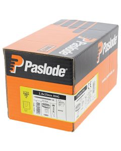 Paslode IM45 GN Nails 35mm - 2.5mm RG S/Steel Smooth - 1 Fuel Cell - 1000 Pack