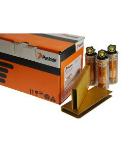 Paslode IM200 / 50 S16 Staples 1.6mm - 19mm CH EG3 - 3 Fuel Cells - 3000 Pack