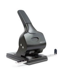 Rapesco ALU 65 Metal 2-Hole Punch (black) - 1015