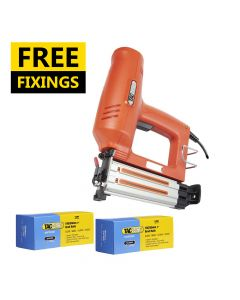 Tacwise 18G 50 Electric Brad Nail Gun comes with 10,000 50mm Brad Nails