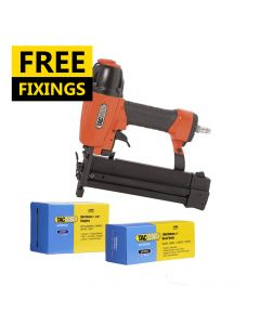 Tacwise 18G Combi Air Stapler/Nailer comes with 5